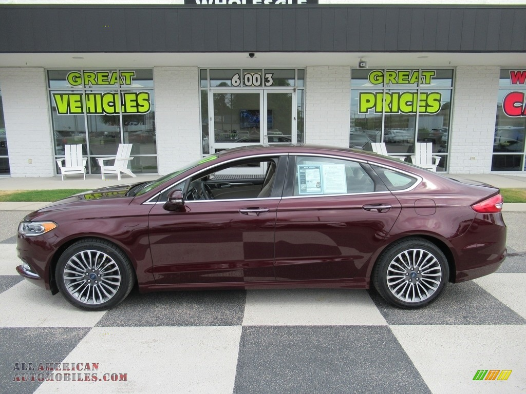2017 Fusion SE - Burgundy Velvet / Medium Light Stone photo #1