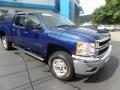 Chevrolet Silverado 2500HD LT Crew Cab 4x4 Blue Topaz Metallic photo #1