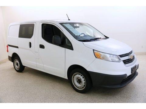Designer White 2015 Chevrolet City Express LS