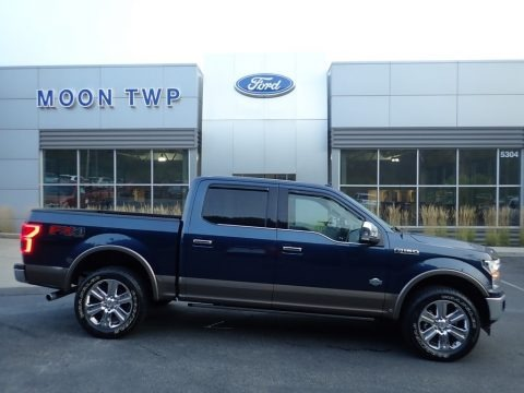 Blue Jeans 2018 Ford F150 King Ranch SuperCrew 4x4