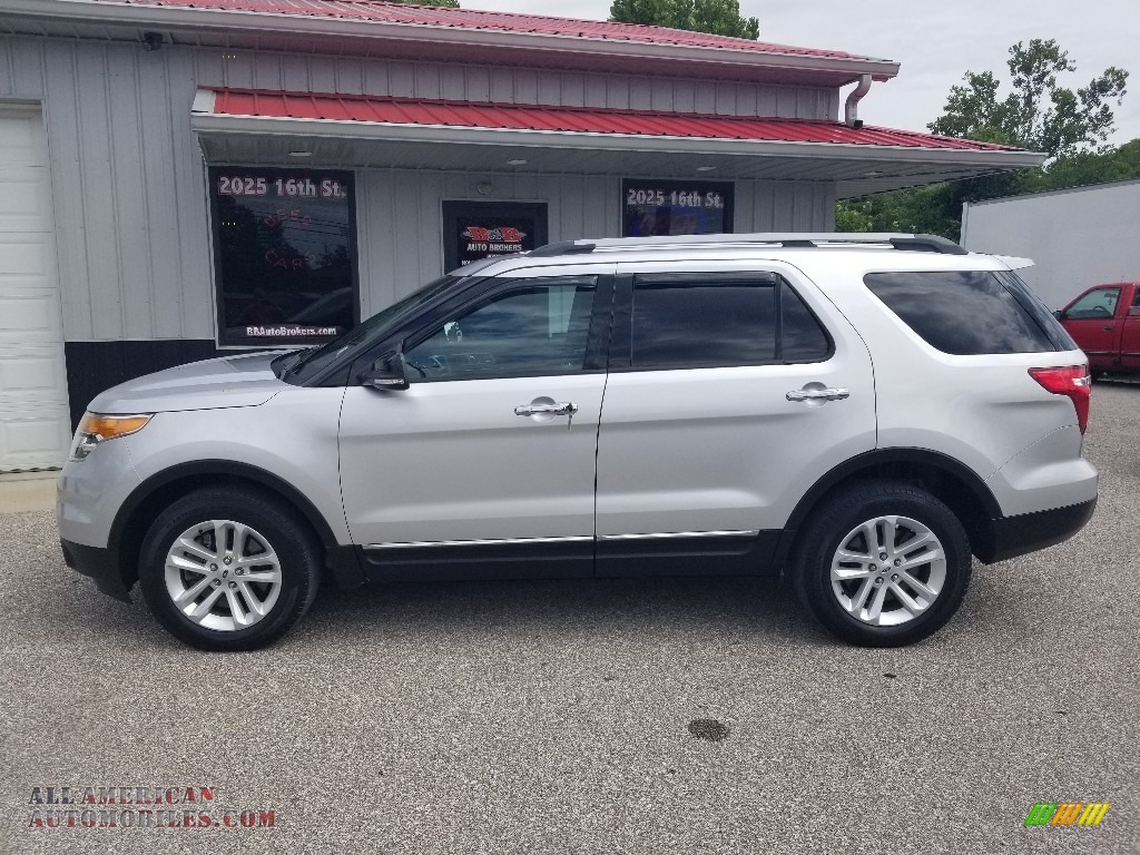 2014 Explorer XLT 4WD - Ingot Silver / Charcoal Black photo #1