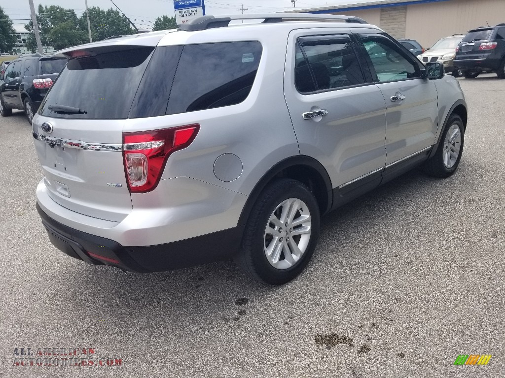 2014 Explorer XLT 4WD - Ingot Silver / Charcoal Black photo #24