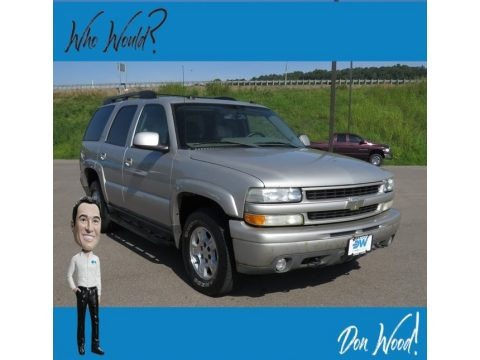 Silver Birch Metallic 2005 Chevrolet Tahoe Z71 4x4