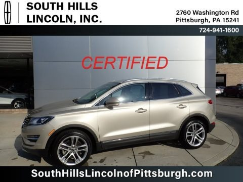 White Gold 2017 Lincoln MKC Reserve AWD