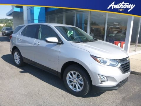 Silver Ice Metallic 2020 Chevrolet Equinox LT AWD