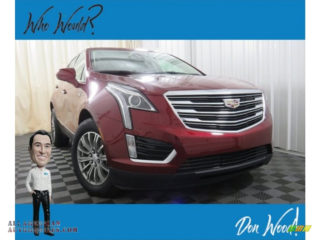 Red Passion Tintcoat / Jet Black Cadillac XT5 Luxury AWD
