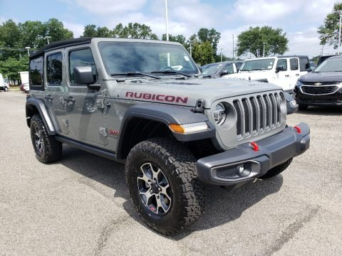 Sting-Gray 2020 Jeep Wrangler Unlimited Rubicon 4x4