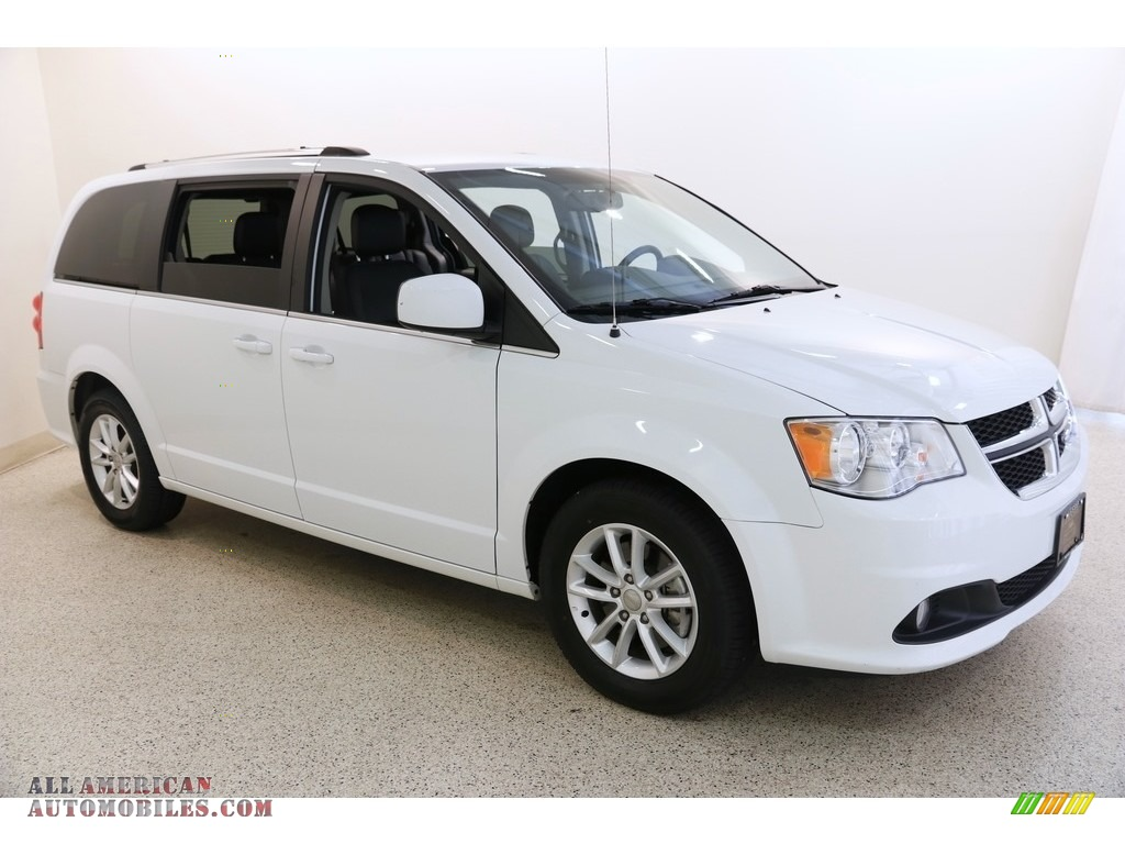 White Knuckle / Black/Light Graystone Dodge Grand Caravan SXT