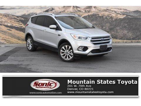 Ingot Silver 2017 Ford Escape Titanium 4WD