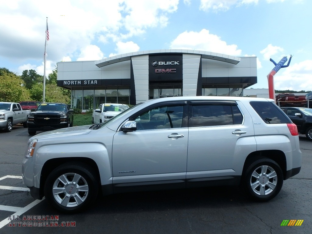 2012 Terrain SLE AWD - Quicksilver Metallic / Jet Black photo #1