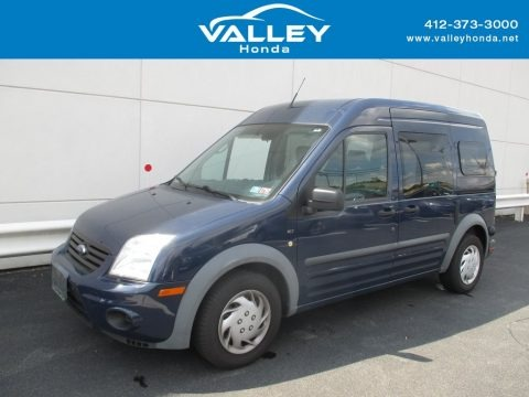 Dark Blue 2010 Ford Transit Connect XLT Passenger Wagon
