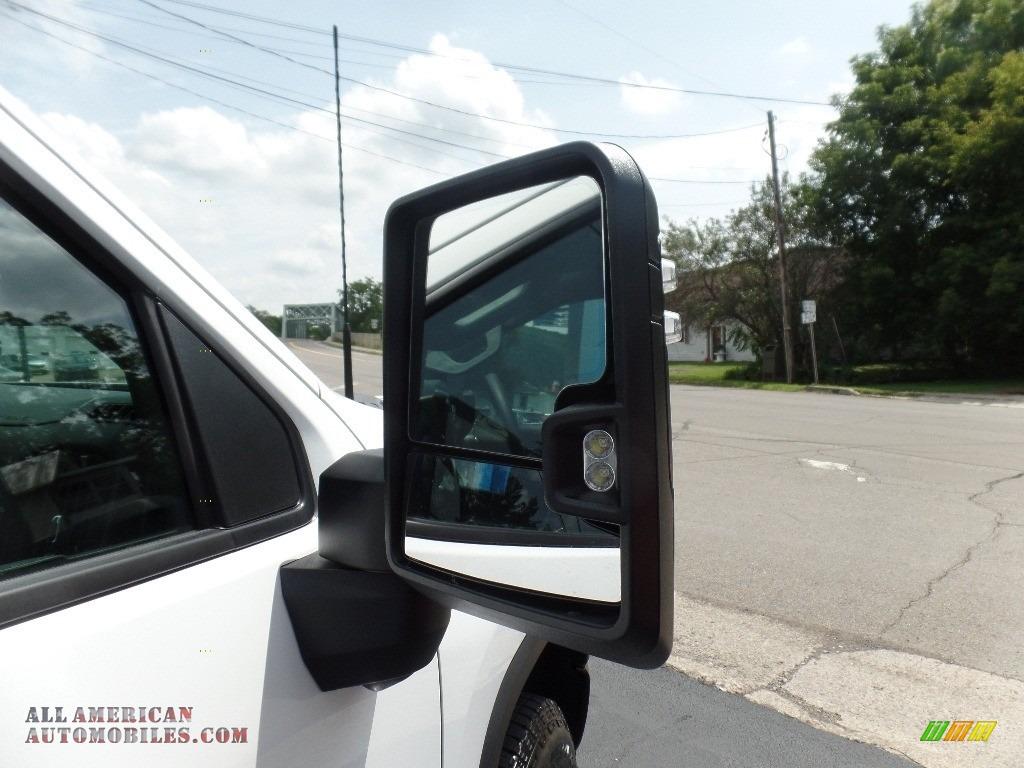 2020 Silverado 2500HD Custom Crew Cab 4x4 - Summit White / Jet Black photo #15