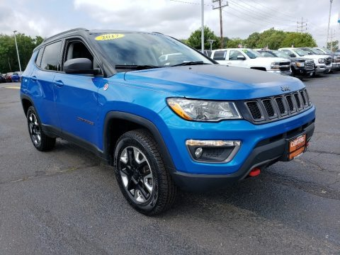 Laser Blue Pearl 2017 Jeep Compass Trailhawk 4x4