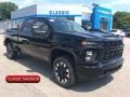 Chevrolet Silverado 2500HD Custom Crew Cab 4x4 Black photo #1