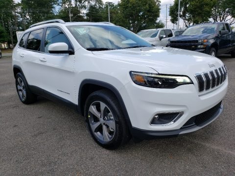 Bright White 2020 Jeep Cherokee Limited 4x4