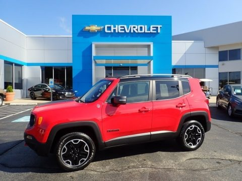 Colorado Red 2017 Jeep Renegade Trailhawk 4x4