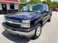 Chevrolet Silverado 1500 Z71 Crew Cab 4x4 Dark Blue Metallic photo #29