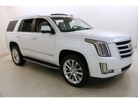 Crystal White Tricoat 2019 Cadillac Escalade Luxury 4WD