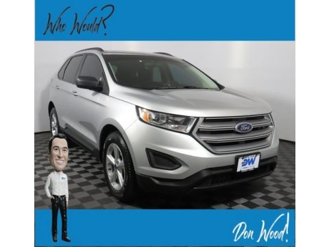 Ingot Silver Metallic 2017 Ford Edge SE AWD