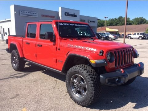 Firecracker Red 2020 Jeep Gladiator Rubicon 4x4