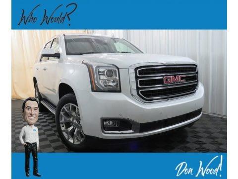 White Frost Tintcoat 2019 GMC Yukon SLT 4WD