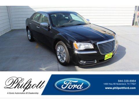 Gloss Black 2012 Chrysler 300 C