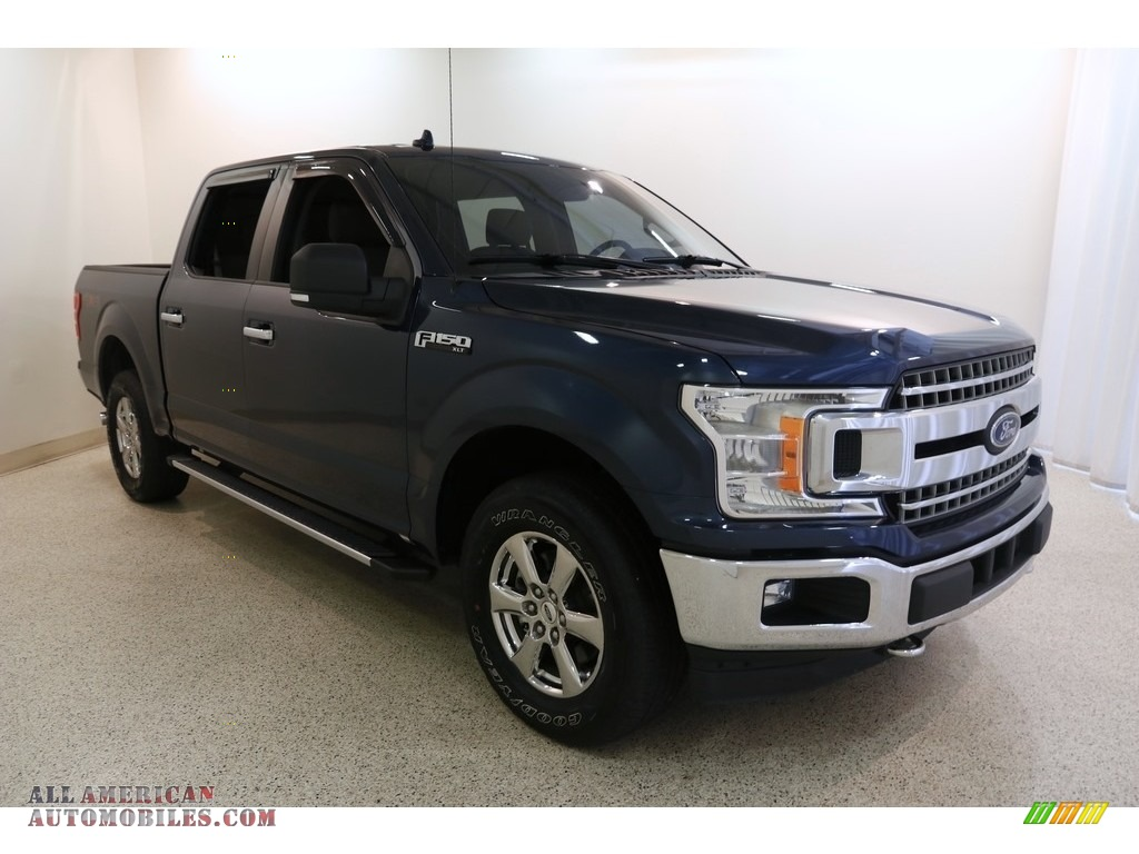 Blue Jeans / Earth Gray Ford F150 XLT SuperCrew 4x4