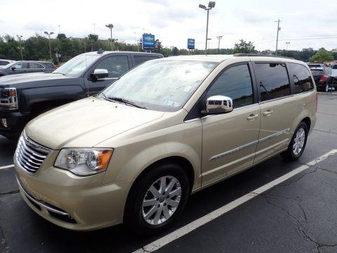 White Gold Metallic 2011 Chrysler Town & Country Touring - L