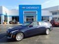 Cadillac CTS 2.0T Luxury AWD Sedan Dark Adriatic Blue Metallic photo #1
