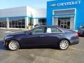 Cadillac CTS 2.0T Luxury AWD Sedan Dark Adriatic Blue Metallic photo #3