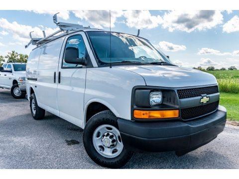 Summit White 2011 Chevrolet Express 2500 Work Van