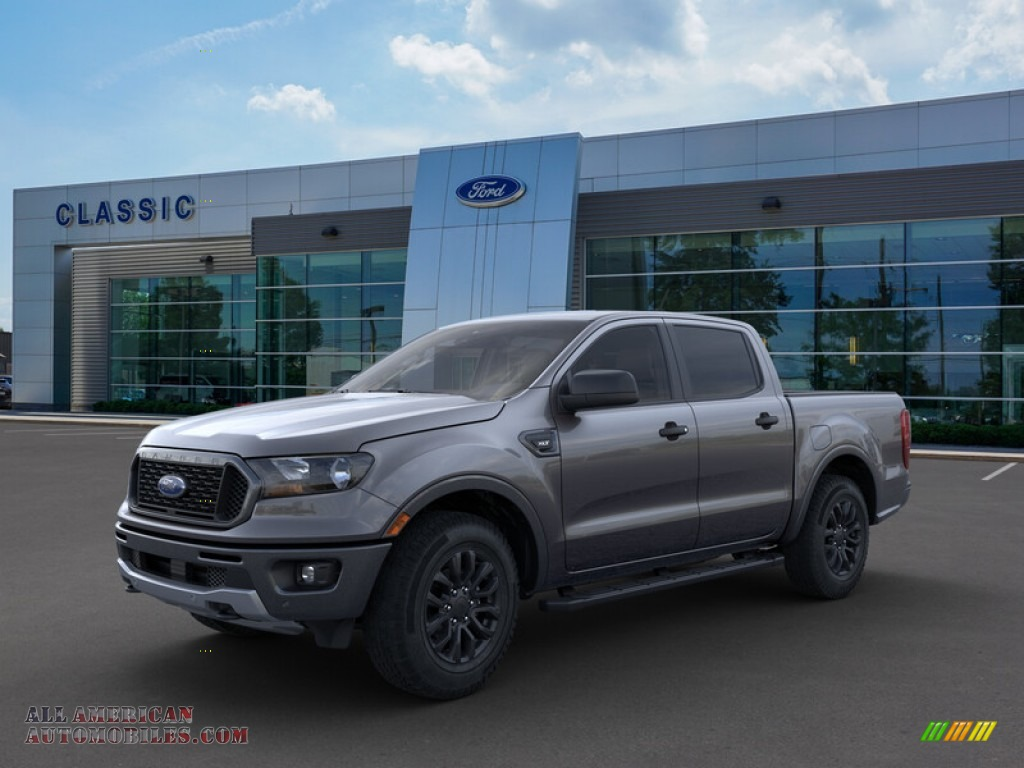 2019 Ranger XLT SuperCrew 4x4 - Magnetic Metallic / Ebony photo #1