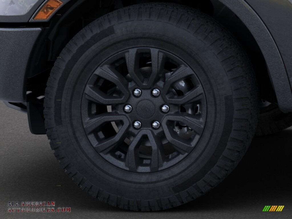 2019 Ranger XLT SuperCrew 4x4 - Magnetic Metallic / Ebony photo #19