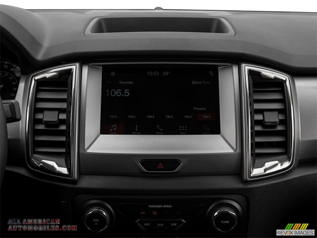 2019 Ranger XLT SuperCrew 4x4 - Magnetic Metallic / Ebony photo #35