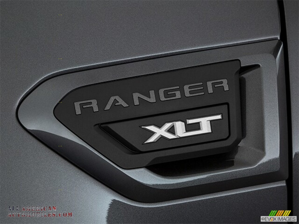 2019 Ranger XLT SuperCrew 4x4 - Magnetic Metallic / Ebony photo #62