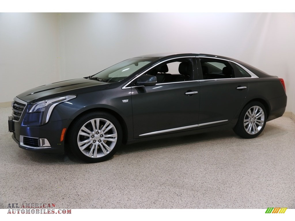 2019 XTS Luxury - Phantom Gray Metallic / Jet Black photo #3