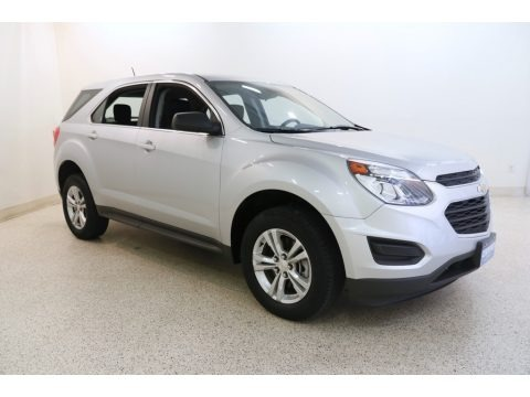 Silver Ice Metallic 2016 Chevrolet Equinox LS AWD