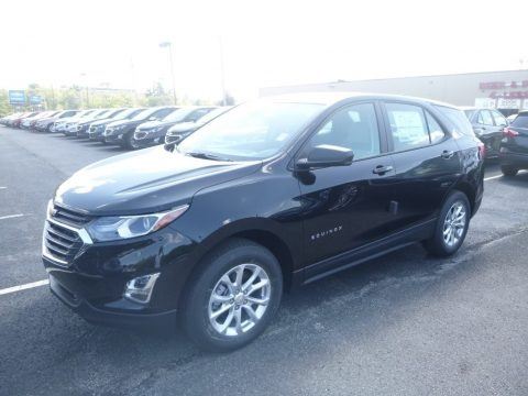 Mosaic Black Metallic 2020 Chevrolet Equinox LS AWD