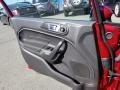 Ford Fiesta SE Sedan Ruby Red Metallic photo #13