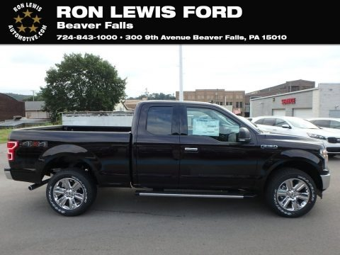 Magma Red 2019 Ford F150 XLT SuperCab 4x4