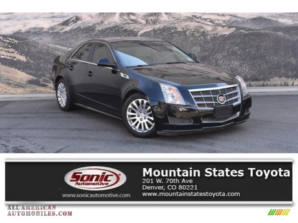 2010 CTS 4 3.0 AWD Sedan - Black Raven / Light Titanium/Ebony photo #1
