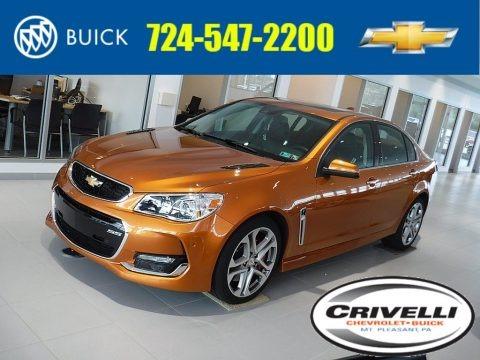 Orange Blast Metallic 2017 Chevrolet SS Sedan