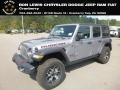Jeep Wrangler Unlimited Rubicon 4x4 Billet Silver Metallic photo #1