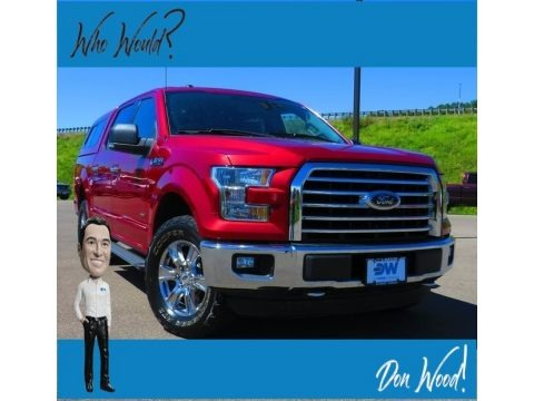 Ruby Red 2018 Ford F150 XLT SuperCab 4x4