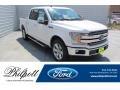 Ford F150 XLT SuperCrew White Platinum photo #1