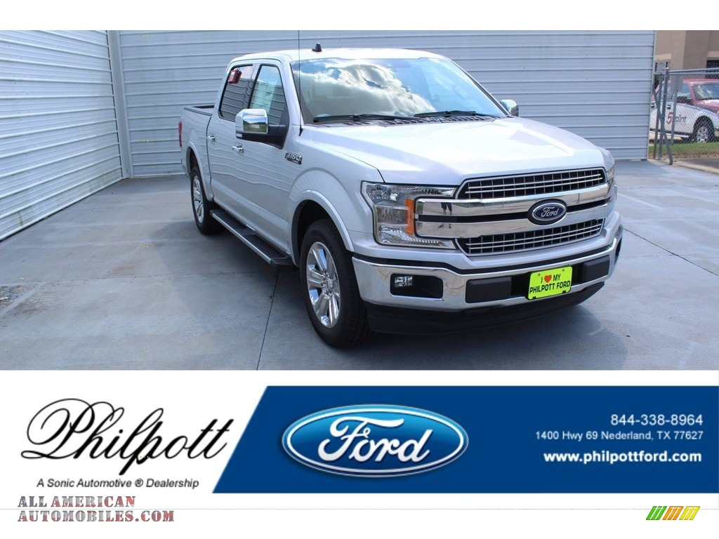 Ingot Silver / Black Ford F150 XLT SuperCrew
