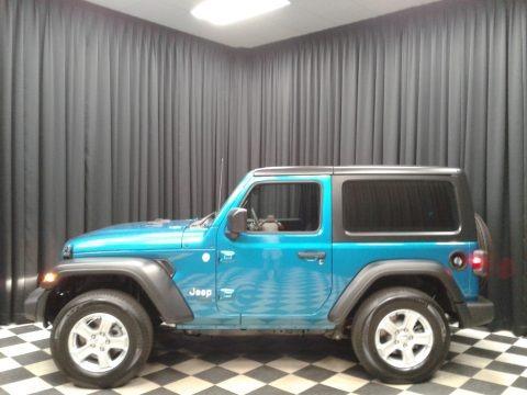 Bikini Pearl 2020 Jeep Wrangler Sport 4x4