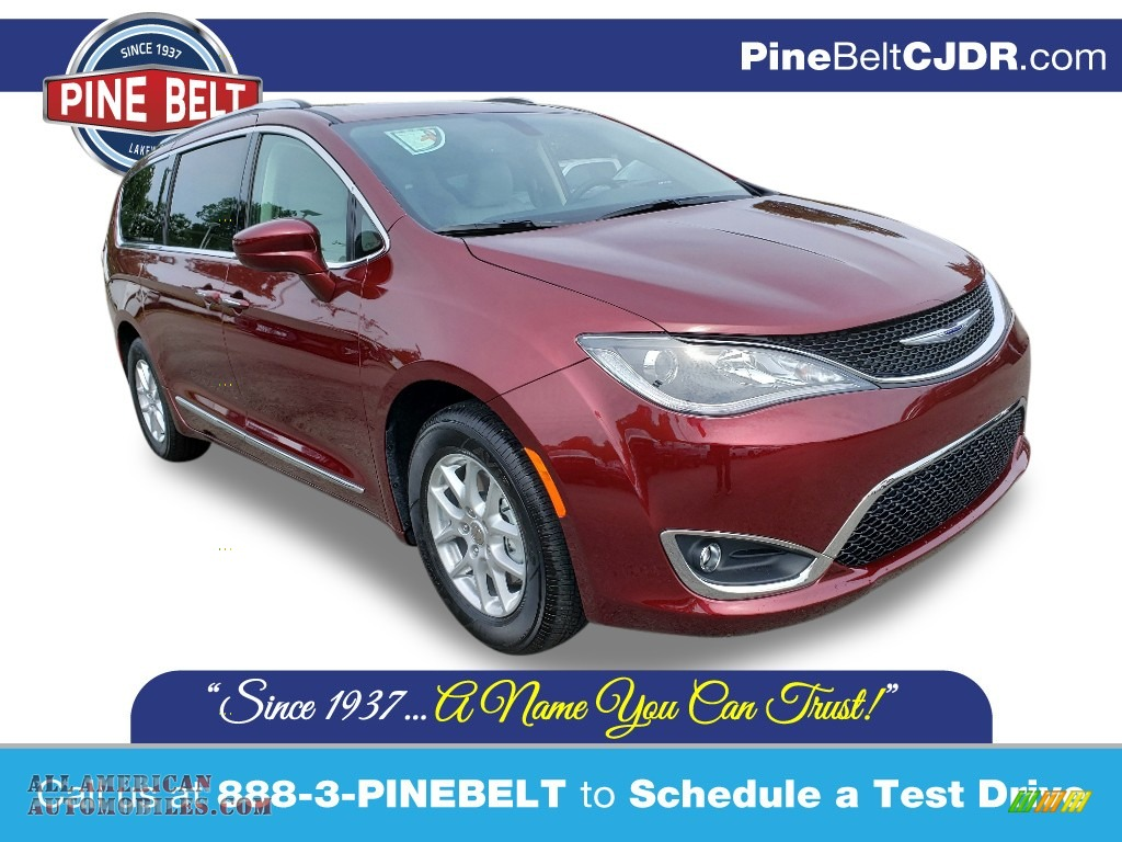 2020 Pacifica Touring L - Velvet Red Pearl / Alloy/Black photo #1