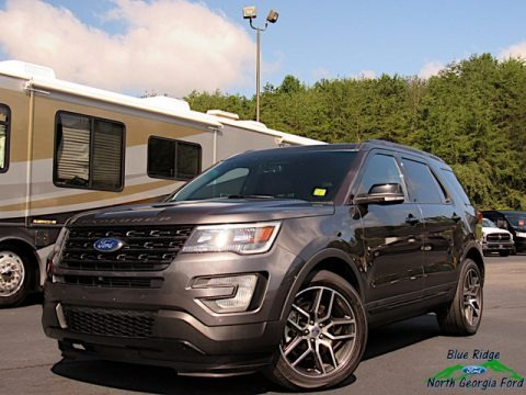 Magnetic Metallic 2016 Ford Explorer Sport 4WD