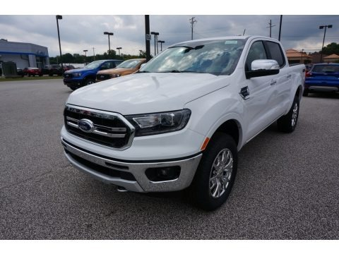 Oxford White 2019 Ford Ranger Lariat SuperCrew 4x4